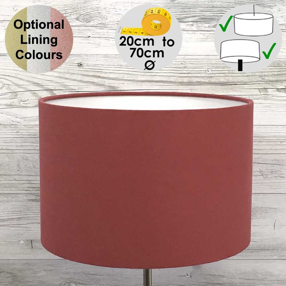 Aura Drum Table Lampshade Berry